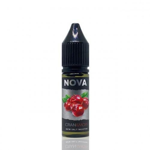 Жидкость на солевом никотине NOVA Salt - Cran Mors 15 мл.