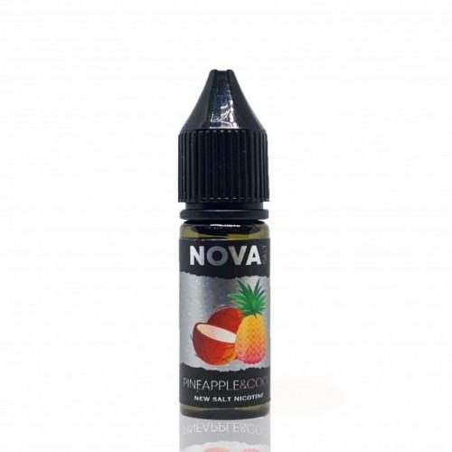 Жидкость на солевом NOVA Salt - Pineapple Coco 15 мл.