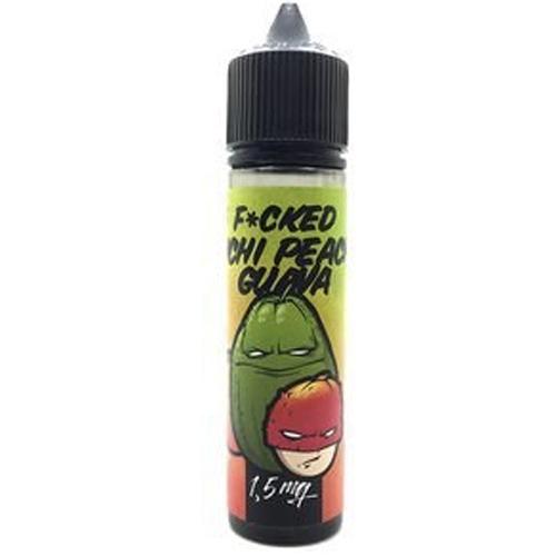 Жидкость для электронных сигарет Fucked - Lichi Peach Guava 60 мл.