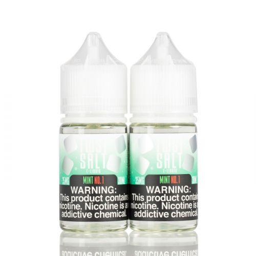 Жидкость на солевом никотине Twist Salt - Mint No.1 30 мл.