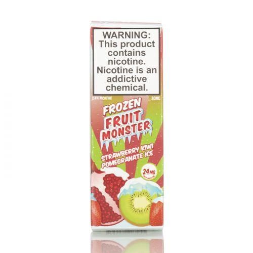 Жидкость на солевом никотине Frozen Fruit Monster Salt - Strawberry Kiwi Pomegranate 30 мл.