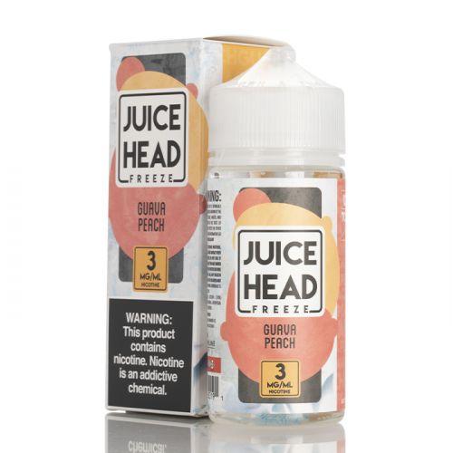 Премиум жидкость Juice Head Freeze - Guava Peach 100 мл.