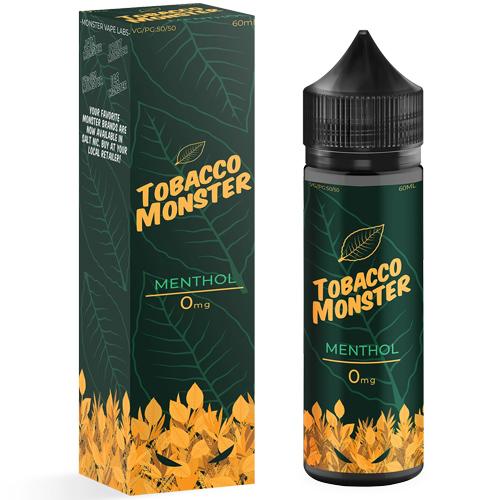 Премиум жидкость Tobacco Monster - Menthol 60 мл.