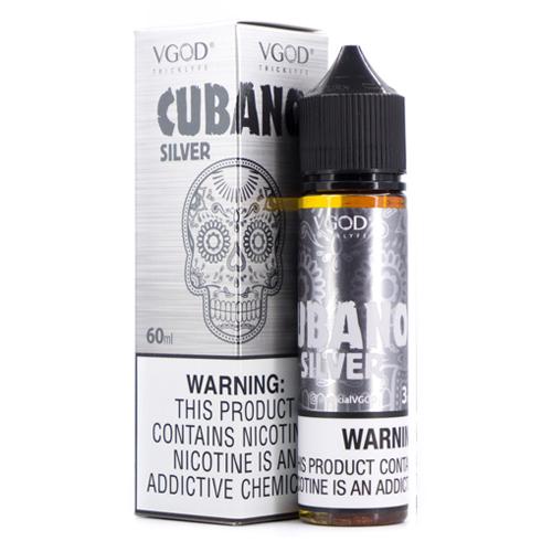 Премиум жидкость VGOD - Cubano Silver 60 мл.
