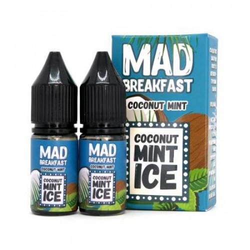Жидкость для pod систем Mad Breakfast Salt - Coconut Mint 20 мл. (2x10 мл)