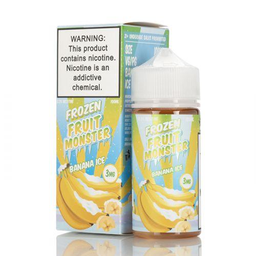Премиум жидкость Frozen Fruit Monster - Banana ICE 100 мл.