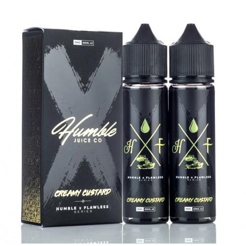 Премиум жидкость Humble X Flawless - Creamy Custard 60 мл.