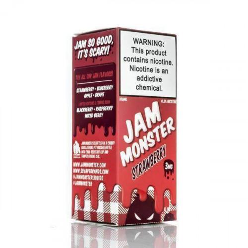 Жидкость Jam Monster - Strawberry 100 мл.