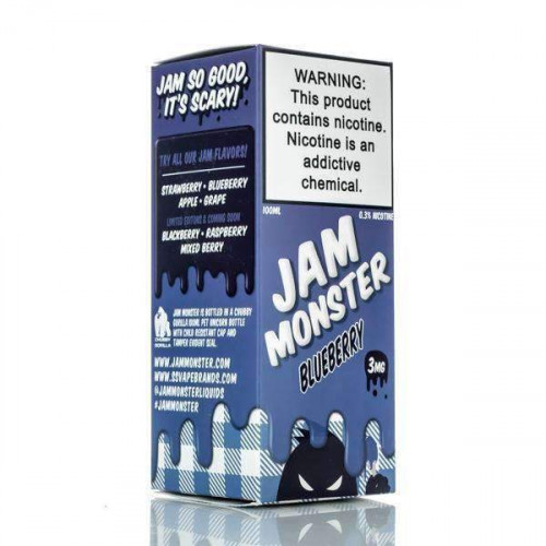 Жидкость Jam Monster - Blueberry - 100ml
