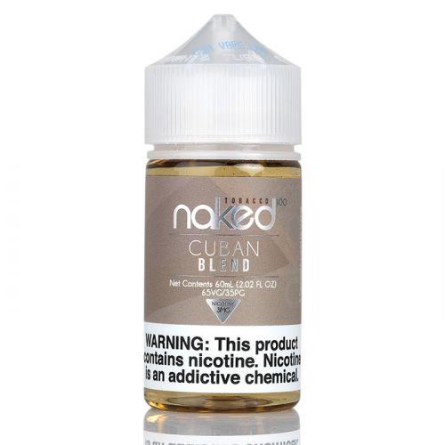 Премиум жидкость Naked 100 - Cuban Blend Tobacco 60 мл.