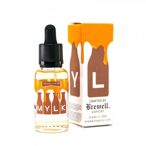 Жидкость  Brewell Vapory - MYLK Caramel Almond 30ml