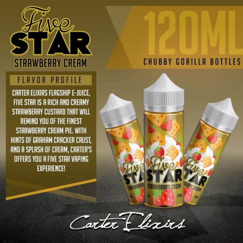 Жидкость Carter Elixirs - Five Star