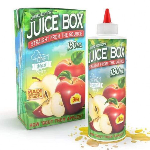 Премиум жидкость  JuiceBox от One Mad Hit 180 мл.